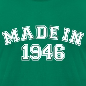 Kelly green Made in 1946 T-Shirts - Men's T-Shirt by American Apparel