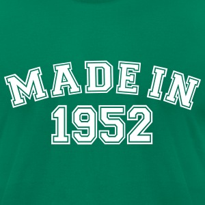 Kelly green Made in 1952 T-Shirts - Men's T-Shirt by American Apparel