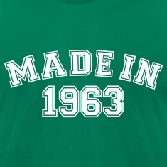 Kelly green Made in 1963 T-Shirts