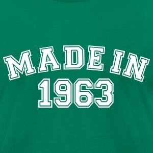 Kelly green Made in 1963 T-Shirts - Men's T-Shirt by American Apparel