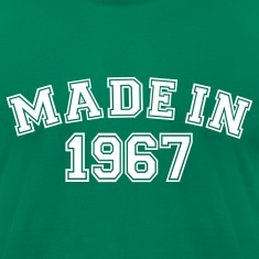 Kelly green Made in 1967 T-Shirts