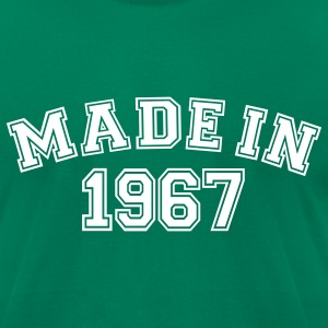 Kelly green Made in 1967 T-Shirts - Men's T-Shirt by American Apparel
