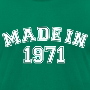 Kelly green Made in 1971 T-Shirts - Men's T-Shirt by American Apparel