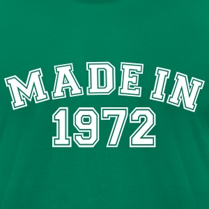 Kelly green Made in 1972 T-Shirts - Men's T-Shirt by American Apparel