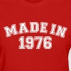 Red Made in 1976 Women's T-Shirts - Women's T-Shirt