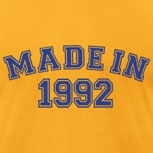 Gold Made in 1992 T-Shirts - Men's T-Shirt by American Apparel