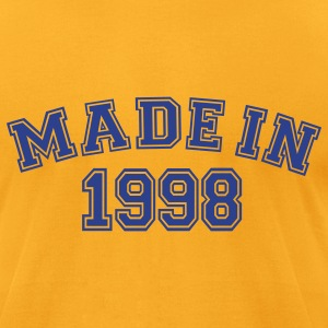 Gold Made in 1998 T-Shirts - Men's T-Shirt by American Apparel