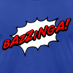 Bazzinga! - Men's T-Shirt by American Apparel