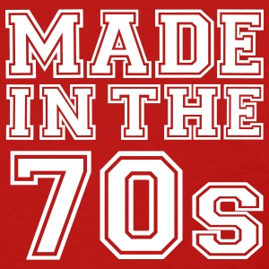 Red Made in the 70's Women's T-Shirts - Women's T-Shirt