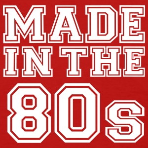 Red Made in the 80's Women's T-Shirts - Women's T-Shirt