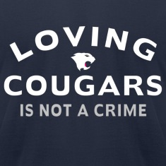 Navy Loving Cougars T-Shirts