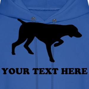 Royal blue GERMAN SHORTHAIRED POINTER - TEMPLATE Hoodies - Men's Hoodie