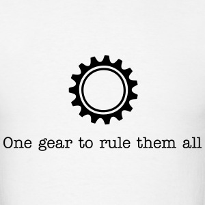 One gear to rule them all - Men's T-Shirt