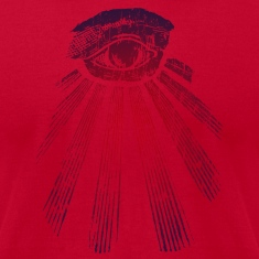 Red All Seeing Eye T-Shirts