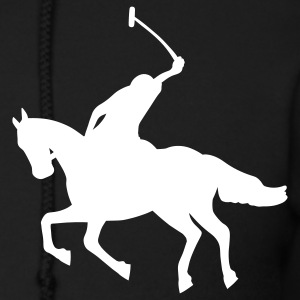 Black Polo Zip Hoodies/Jackets - Men's Zip Hoodie