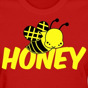 Red cute bee honey Women's T-Shirts - Women's T-Shirt