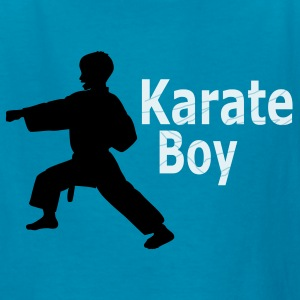 Karate Boy Kids Orange  T-shirt - Kids' T-Shirt