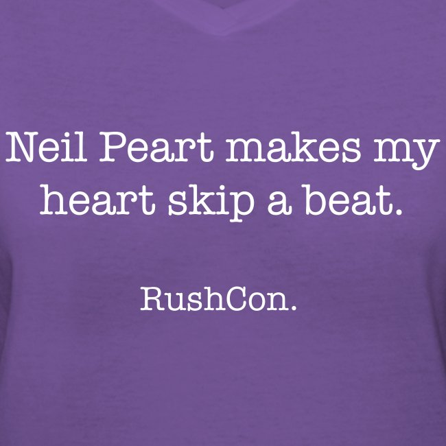 Neil Peart makes my heart skip a beat