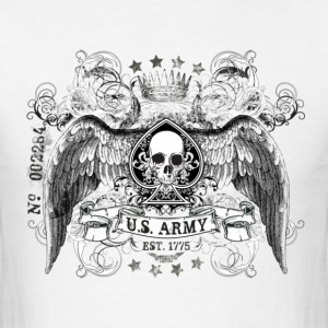 White US ARMY T-Shirts - Men's T-Shirt