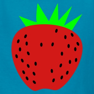 Yellow a strawberry Kids' Shirts - Kids' T-Shirt