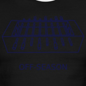 White/navy Off-Season T-Shirts - Men's Ringer T-Shirt