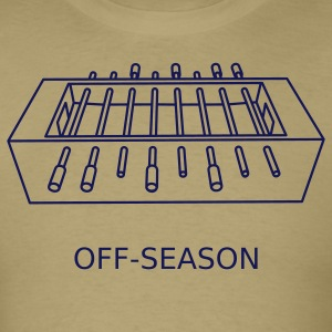 Khaki Off-Season T-Shirts - Men's T-Shirt