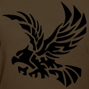 Brown tribal eagle Women's T-Shirts - Women's T-Shirt