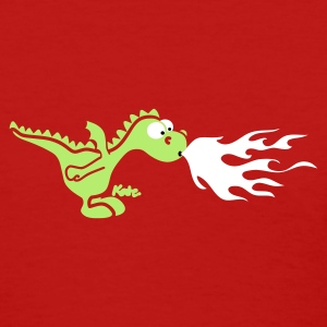 Red Fire Dragon Women's T-Shirts - Women's T-Shirt