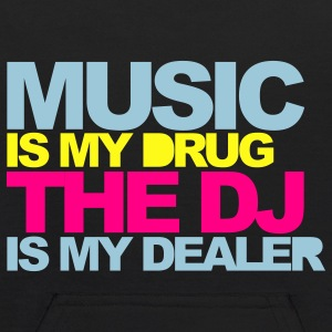Black Music Is My Drug V4 Sweatshirts - Kids' Hoodie