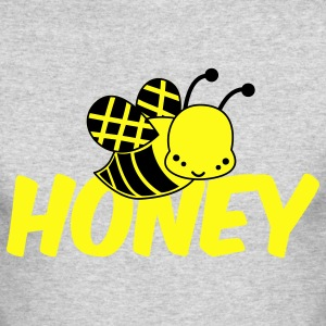 Kelly green cute bee honey Long Sleeve Shirts - Men's Long Sleeve T-Shirt by Next Level