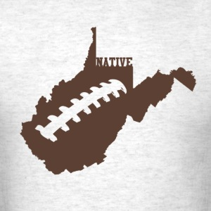 Light oxford WV Native FOOTBALL T-Shirts - Men's T-Shirt