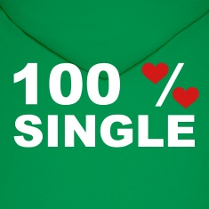 Green 100% Single Hoodies