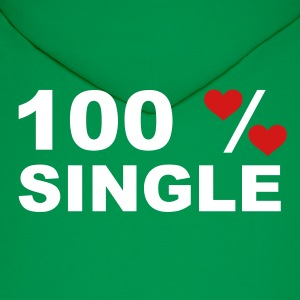 Green 100% Single Hoodies - Men's Hoodie