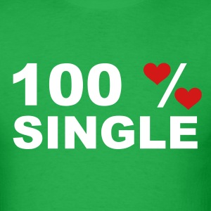 Bright green 100% Single T-Shirts - Men's T-Shirt