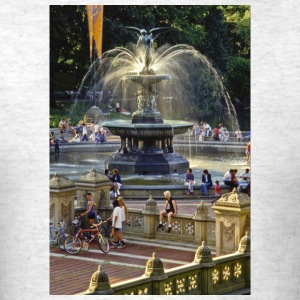 Bethesda Fountain, Central Park, New York - Men's T-Shirt