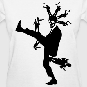 Violence In Suits - Women's T-Shirt