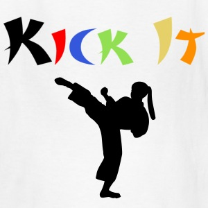 Kick It Childs Black T-Shirt - Kids' T-Shirt