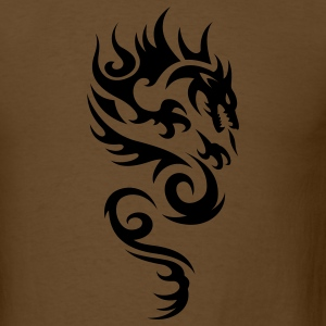 Brown tribal dragon T-Shirts - Men's T-Shirt