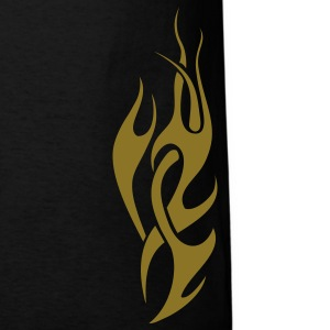 Black tribal flame T-Shirts - Men's T-Shirt