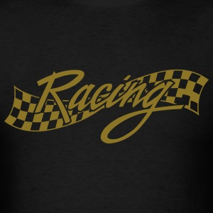 Black racing T-Shirts - Men's T-Shirt