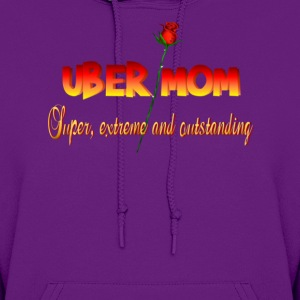 Uber Mom with Definition - Women's Hoodie