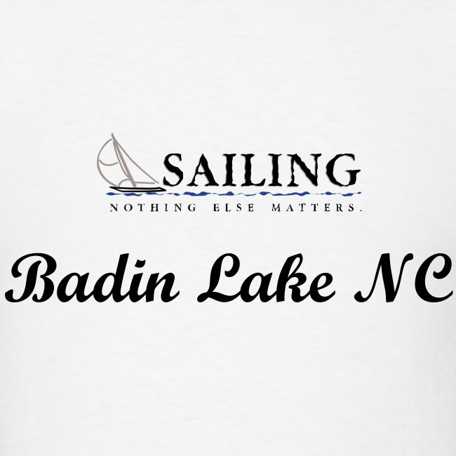 Mens Sailing Badin Lake NC