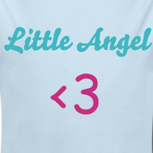 Powder blue wing Baby Body - Long Sleeve Baby Bodysuit