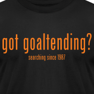 Design ~ got goaltending?