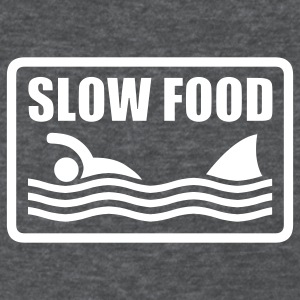 Deep heather slow food Women's T-Shirts - Women's T-Shirt