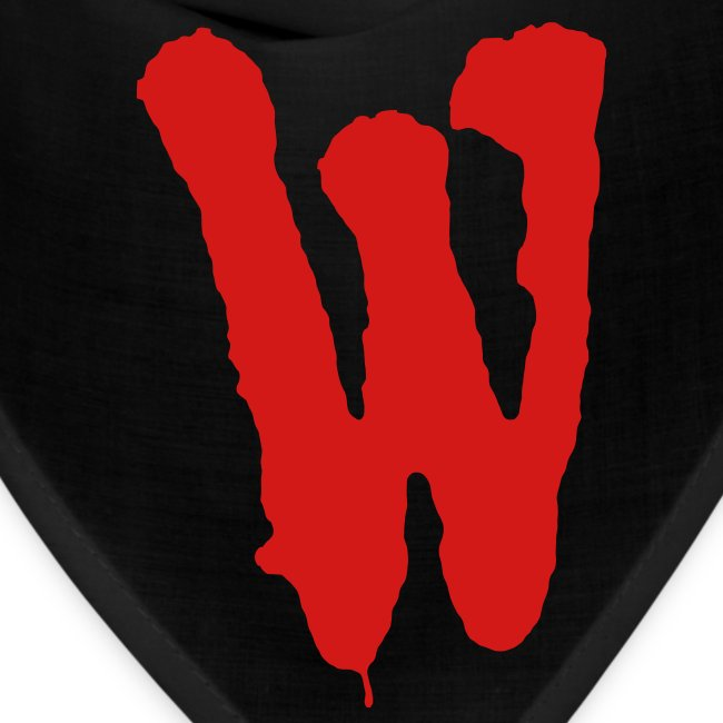 Warriors The Official Warriors Bandanna Red W Bandana