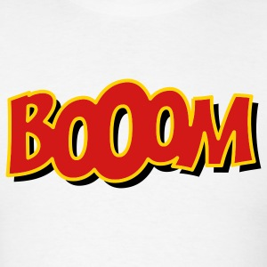 White booom T-Shirts - Men's T-Shirt
