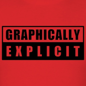 Red graphically explicit T-Shirts - Men's T-Shirt