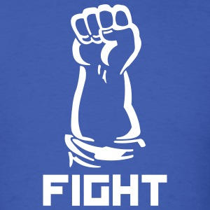 Royal blue fighting fist T-Shirts - Men's T-Shirt