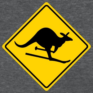 Deep heather roadsign kangaroo Women's T-Shirts - Women's T-Shirt
